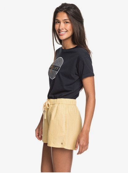 Rock et chiffons femme popeline Short Lin Pantalon Pantalon