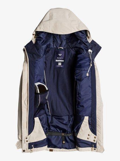 Roxy Andie Crown Blue Wild Ethnic Womens Snowboard Ski Jacket NEW