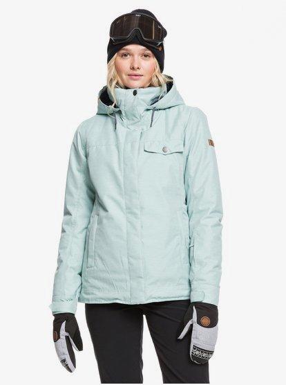 Women/'s ROXY Billie Insulated Hooded Jacket Snowboard Ski Winter Coat ERJTJ03235