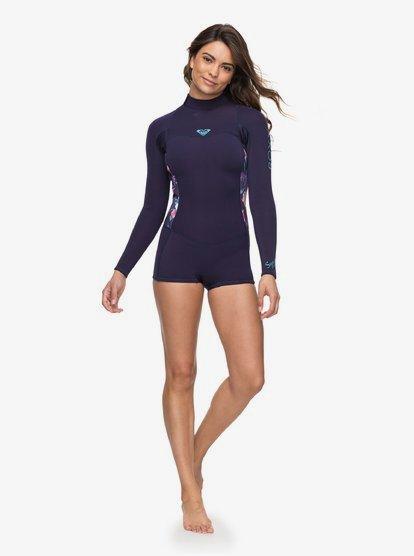 Roxy Womens 2//2Mm Syncro Long Sleeve Back Zip Flt Springsuit for Women Erjw403014