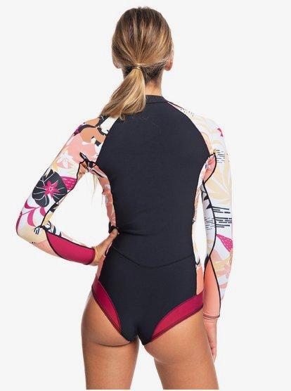 Roxy Womens 1mm POP Surf Back Zip Bikini Cut Shorty
