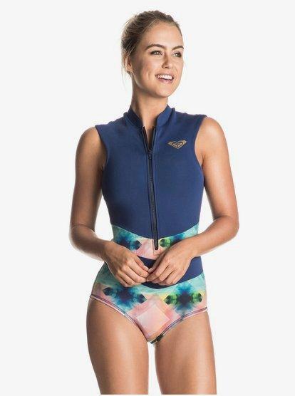 Pop Surf Sleeveless One Piece Swimsuit ERJWR03118 | Roxy