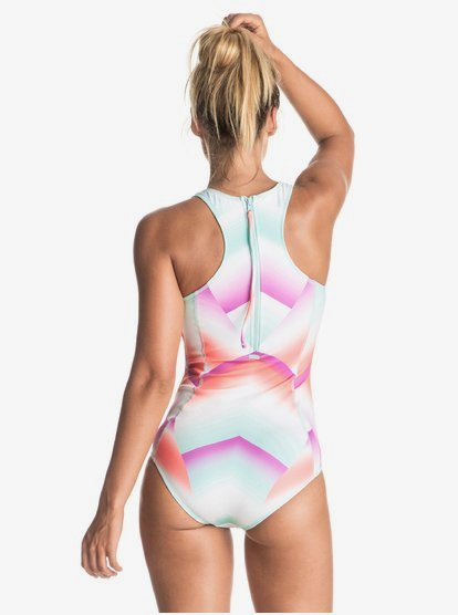 Roxy Womens Pop Surf Fashion One Piece Swimsuit