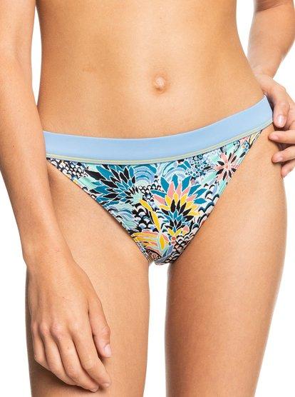 B vous Spring Blossom Imprimé Floral Bleu Marine Couleur Bas De Bikini-Toutes Tailles