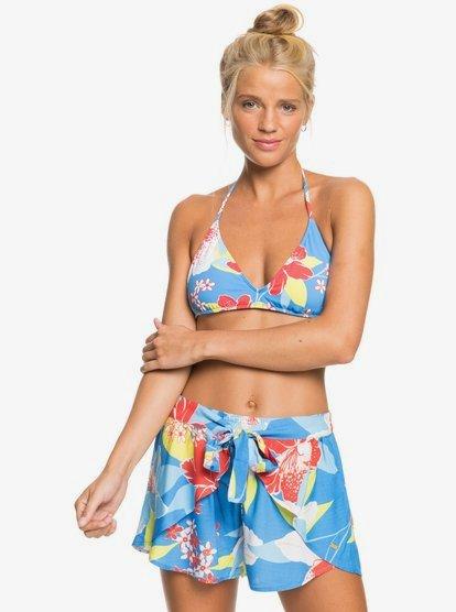 록시 반바지 Roxy Lemon Chill Beach Shorts,FRENCH BLUE SAYA S bnm7