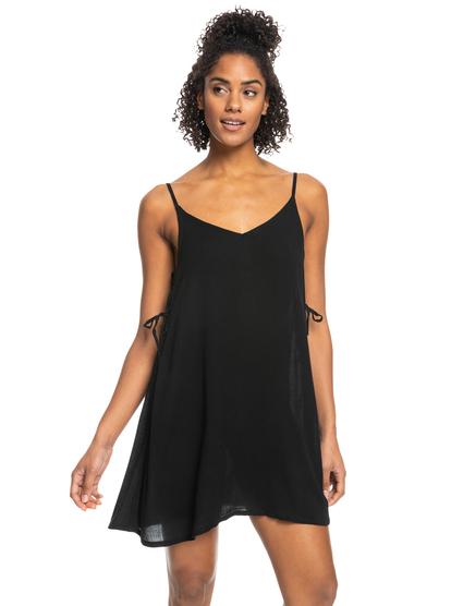 록시 커버업 원피스 Roxy Beachy Vibes Beach Dress,ANTHRACITE kvj0