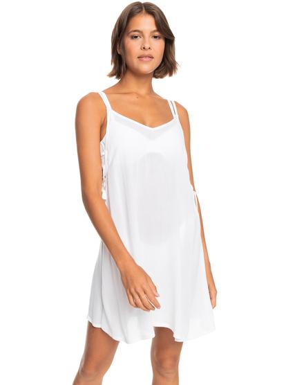 록시 커버업 원피스 Roxy Beachy Vibes Beach Dress,BRIGHT WHITE wbb0