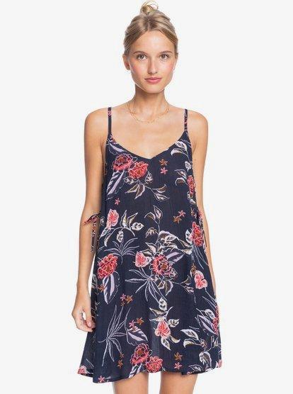 록시 커버업 원피스 Roxy Beachy Vibes Beach Dress,MOOD INDIGO SUNSET BOOGIE S bsp8
