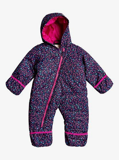Roxy Rose Baby Snowsuit Girls