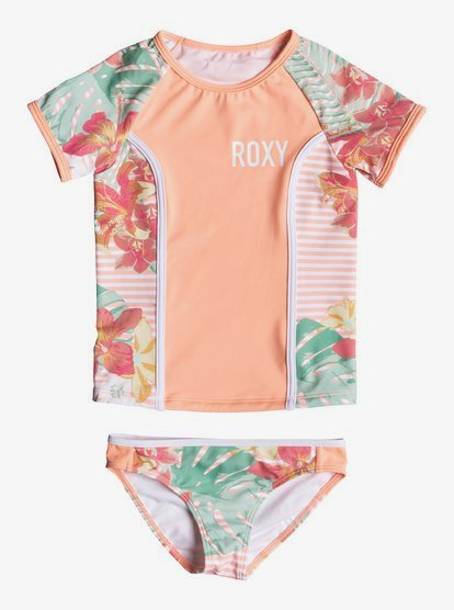 Roxy Girls Lush Florals One Piece Swimsuit
