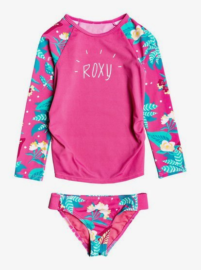 2,3,4,6 /& 7 Roxy Girls Long Sleeve Printed T Shirt NEW SIZES
