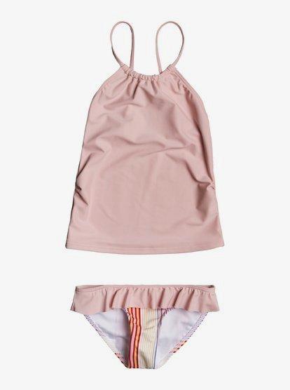 Roxy Big Girls Beach Days Tankini Swimsuit Set
