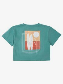 Geo Surf - Cropped T-Shirt for Girls 8-16  ARGZT03506