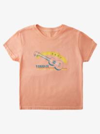Beach Guitar - T-Shirt for Girls 4-16  ARGZT03643