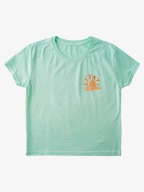 Sunset And Squares - T-Shirt for Girls 4-16  ARGZT03649