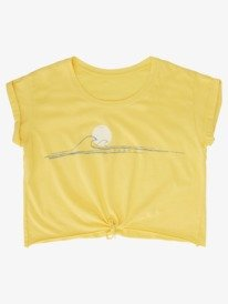 Wave N Sun - Tie-Front T-Shirt for Girls 4-16  ARGZT03661