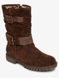 Mcgraw - Faux Suede Boots for Women  ARJB700638