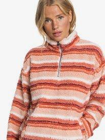 ROXY - Sherpa Half-Zip Fleece for Women  ARJFT03644