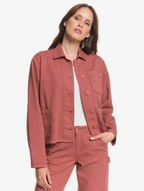 Wilmans Work - Cropped Shirt Jacket for Women  ARJJK03034