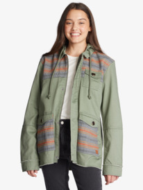 Could Be You - Hooded Light Weight Parka for Women  ARJJK03056