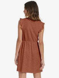 Morning Breeze - Sleeveless V-Neck Dress for Women  ARJKD03174