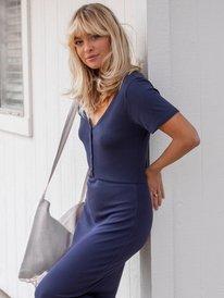 Bring It On - Short Sleeve Midi Dress for Women  ARJKD03224