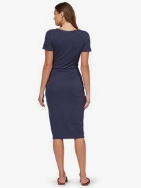 Bring It On - Short Sleeve Midi Dress for Women  ARJKD03224