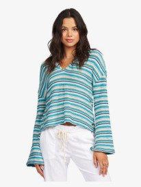 Bon Fire Stripe - Hoodie for Women  ARJKT03314