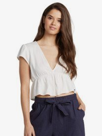 """Steal The Sun 2.5"""" - Linen Shorts for Women  ARJNS03126"""