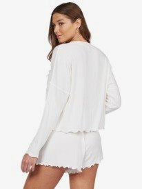 Cozy Day - Rib Knit Lounge Shorts for Women  ARJNS03172