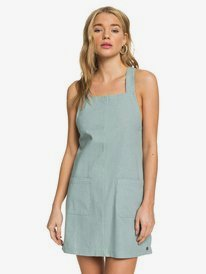 Feelin The Sun - Strappy Linen Dress for Women  ARJWD03269