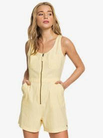 Roll Up Your Sleeve - Zipped Playsuit for Women  ARJWD03270