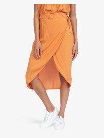 Destiny Waits - Midi Wrap Skirt for Women  ARJWK03048