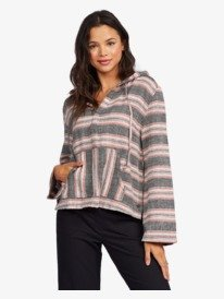 Very Friendly - Long Sleeve Poncho Hoodie for Women  ARJWT03201