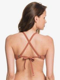 Printed Beach Classics - Fixed Triangle Bikini Top for Women  ARJX303408