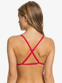 Printed Beach Classics - Fixed Triangle Bikini Top for Women  ARJX303418