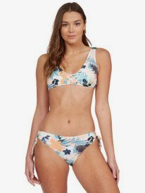 Printed Beach Classics - Elongated Tri Bikini Top for Women  ARJX303501