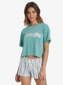 Blocky Biscus - Boyfriend T-Shirt for Women  ARJZT06053