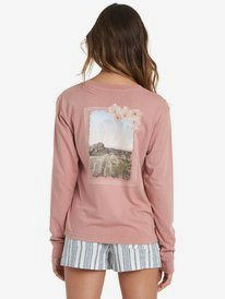Mountain Collage - Long Sleeve T-Shirt for Women  ARJZT06072
