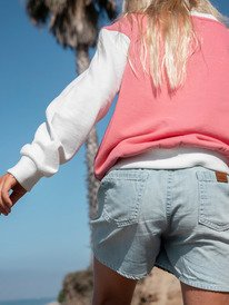 Genial Moment - Relaxed Denim Shorts for Girls 4-16  ERGDS03062