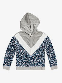 Thunder Clouds - Zip-Up Hooded Fleece for Girls 4-16  ERGFT03557