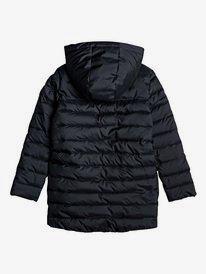 Waterfall Song - Longline Hooded Puffer Jacket for Girls 4-16  ERGJK03070