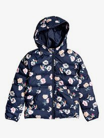 Glitter Shell - Hooded Puffer Jacket for Girls 4-16  ERGJK03073