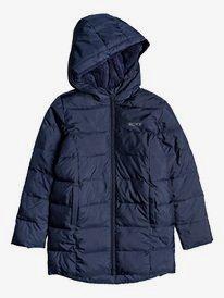 Sunrise Lover - Sherpa-Lined Longline Puffer Jacket for Girls 4-16  ERGJK03074
