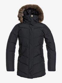 Elsie - Waterproof Longline Puffer Jacket for Girls 8-16  ERGJK03075