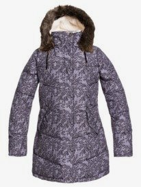 Elsie Printed - Waterproof Longline Puffer Jacket for Girls 8-16  ERGJK03083
