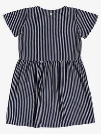 How Long - Short Sleeve Buttoned Dress for Girls 4-16  ERGKD03143