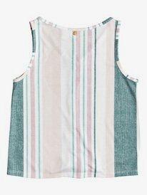 Disco Blue - Sleeveless Buttoned Tie-Front Top for Girls 4-16  ERGKT03139