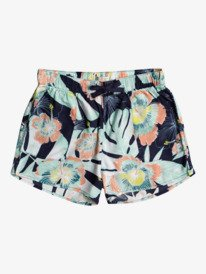 Eyes Look The Sky - Beach Shorts for Girls 4-16  ERGNS03091