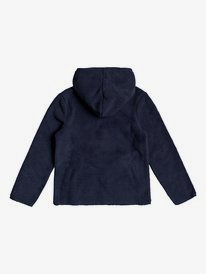 White Shell - Zip-Up Hooded Fleece for Girls 4-16  ERGPF03024